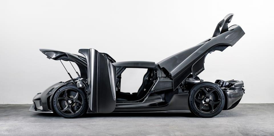 Koenigsegg Regera KNC: Naked carbon hypercar revealed