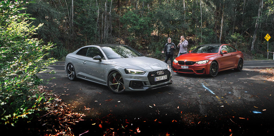 2018 Audi RS5 v BMW M4 Competition comparison