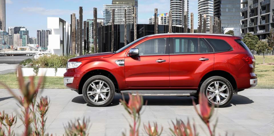 Ford Everest Titanium pricing defended, flagship making up 25 per cent of sales