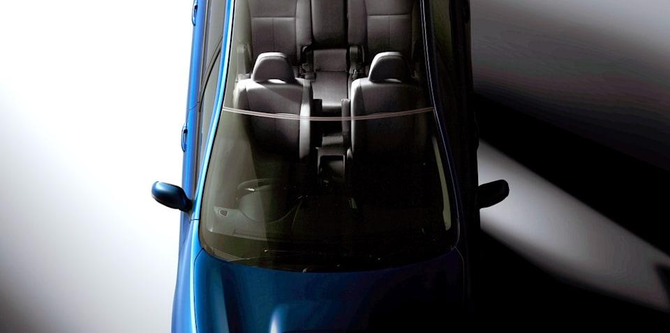 Subaru Exiga official teaser