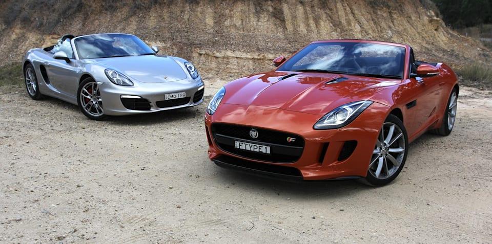 Jaguar F-Type v Porsche Boxster: Comparison Review