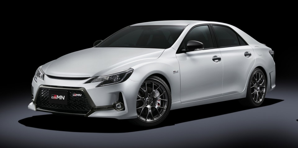 Toyota Mark X GRMN edition returns as a Japan-only taunt