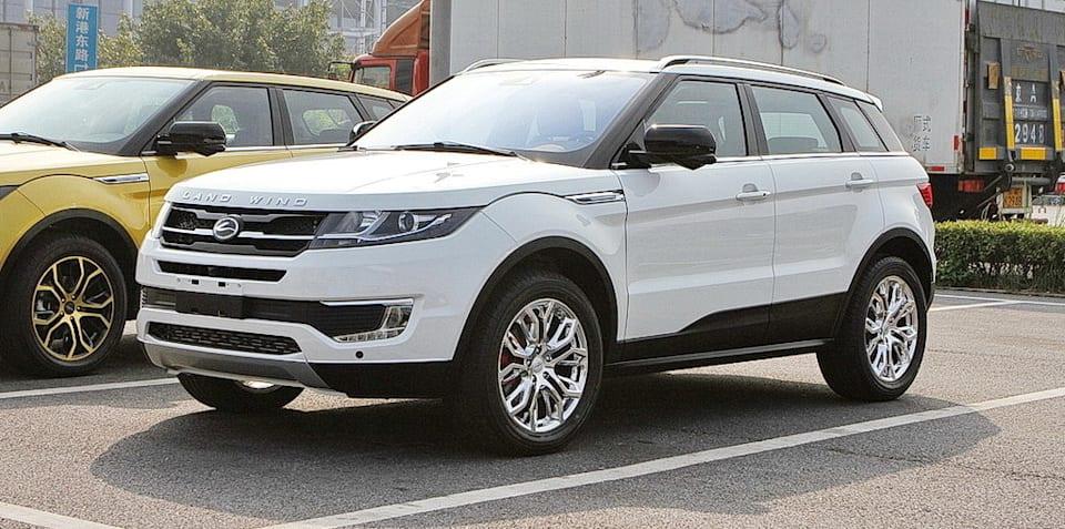 Jaguar Land Rover wins case against copycat Land Wind X7