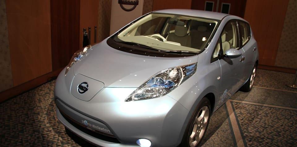 Nissan LEAF 100% electric car, zero emissions