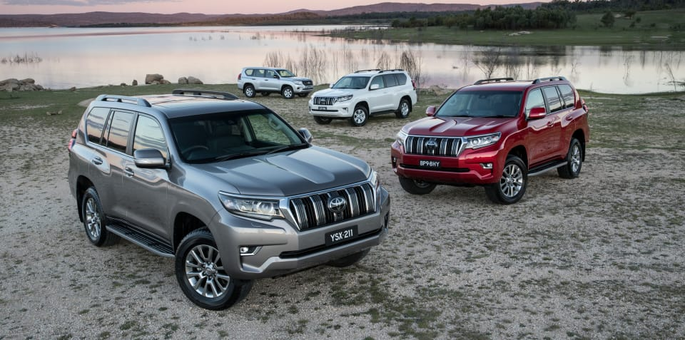 2018 Toyota LandCruiser Prado pricing and specs