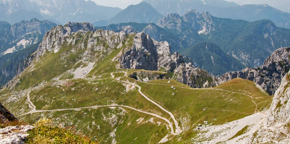 World\'s greatest driving roads: Julian Alps, Slovenia