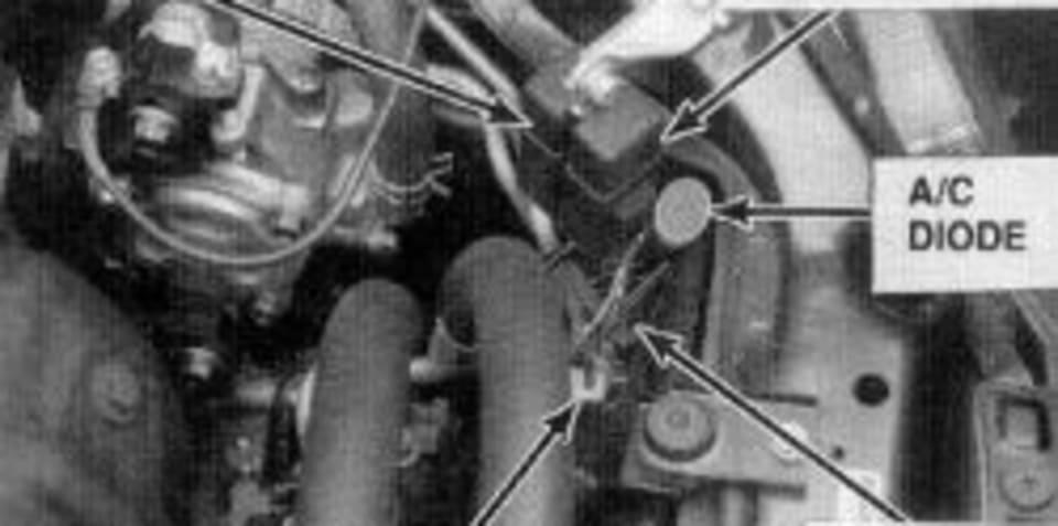Car Compressor Clutch Relay