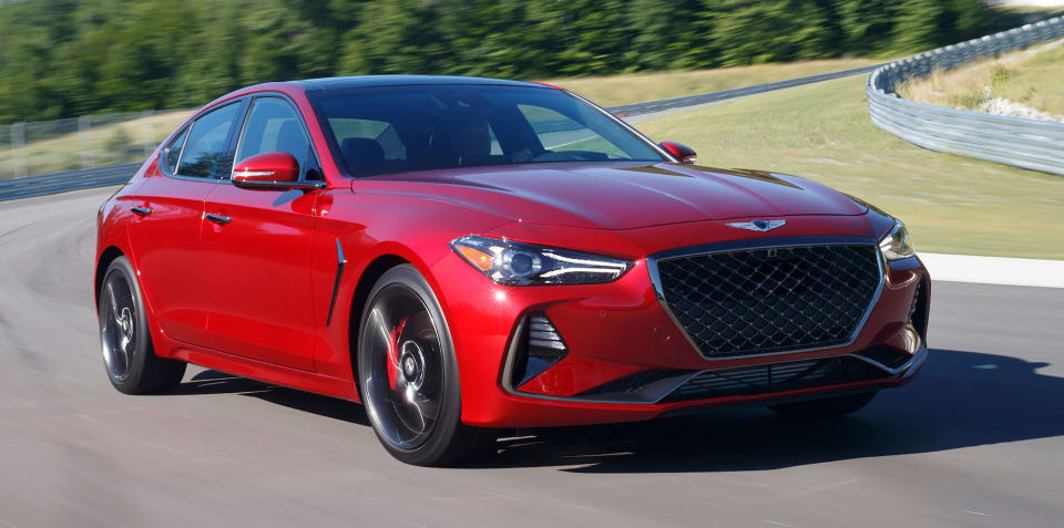Genesis G70 crowned North American Car of the Year
