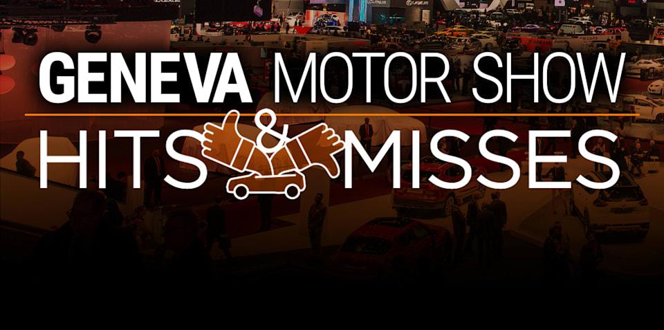 2016 Geneva motor show: Hits and misses