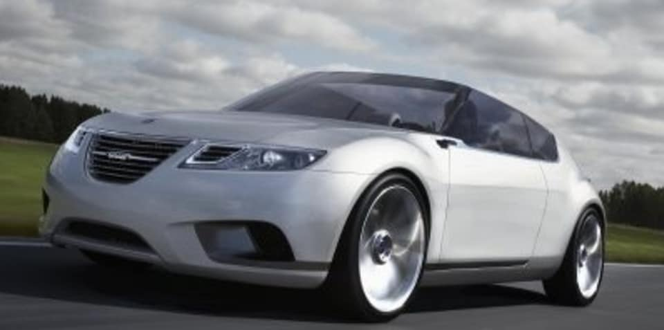 SAAB 9-X Air concept unveiled at Paris