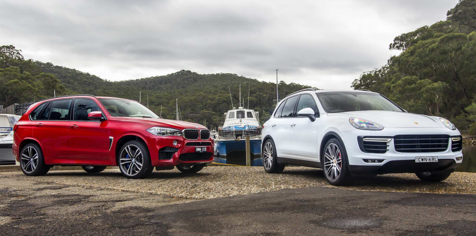 2015 BMW X5 M v Porsche Cayenne Turbo : Comparison Review