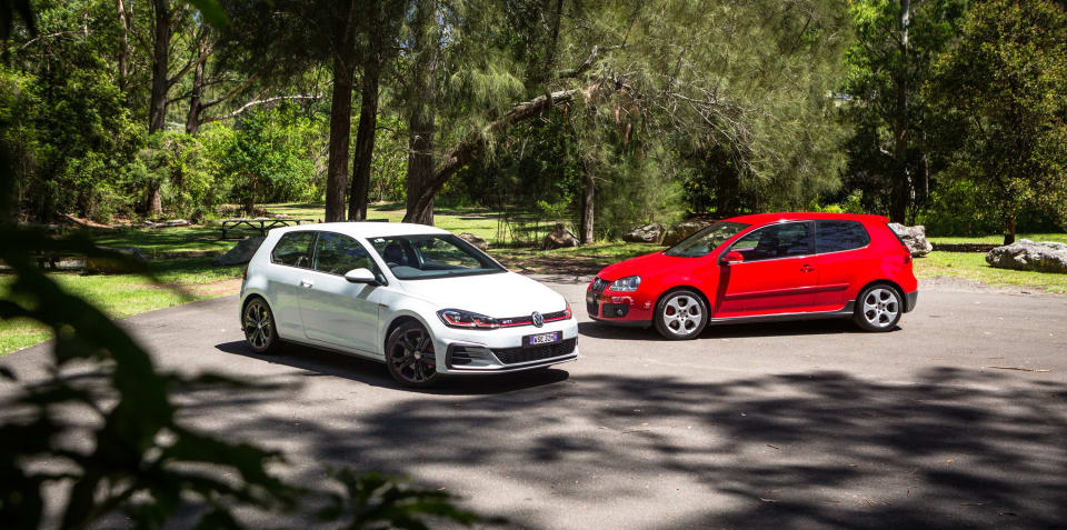 fd9cd43bd1f8 Volkswagen Golf GTI Old v New  2018 MkVII v 2007 MkV comparison