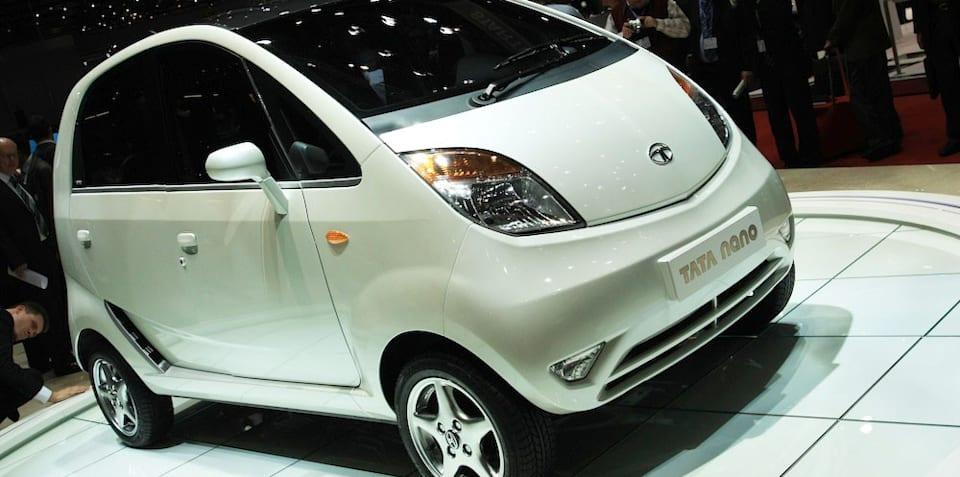 Tata Nano 2008 Geneva Motor Show