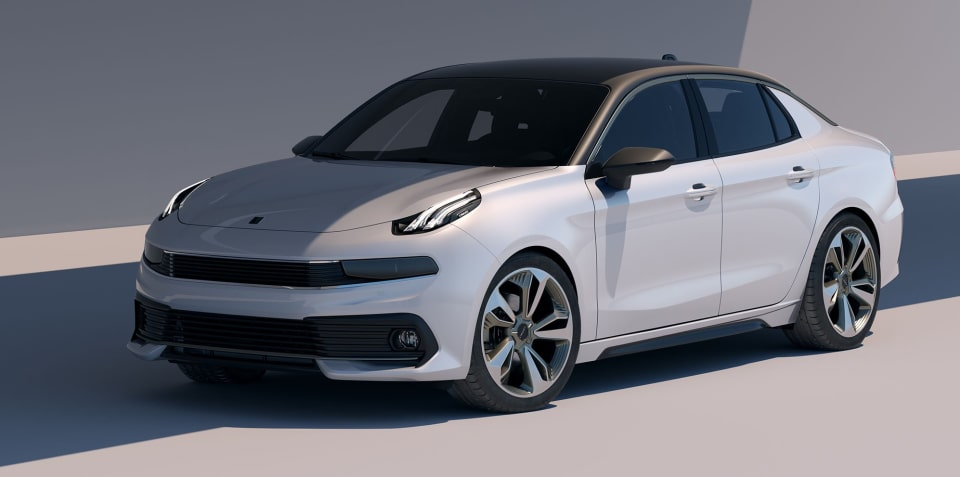 Lynk & Co 03 concept sedan revealed ahead of Shanghai