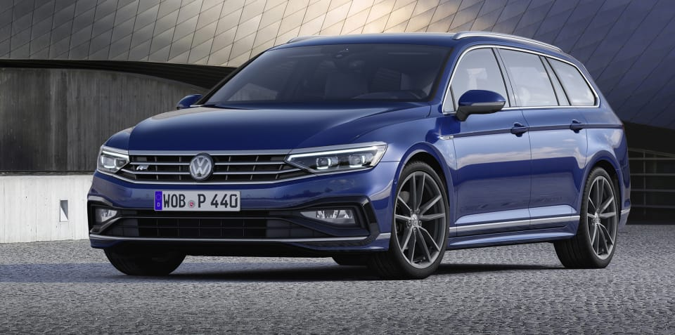 2020 Volkswagen Passat facelift revealed, here before year's end