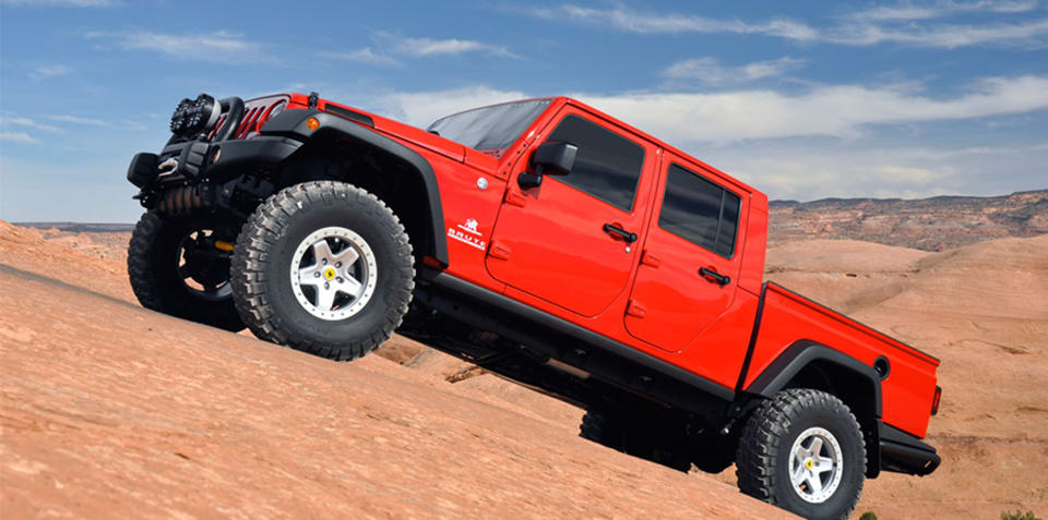 Jeep Wrangler ute confirmed for Australia