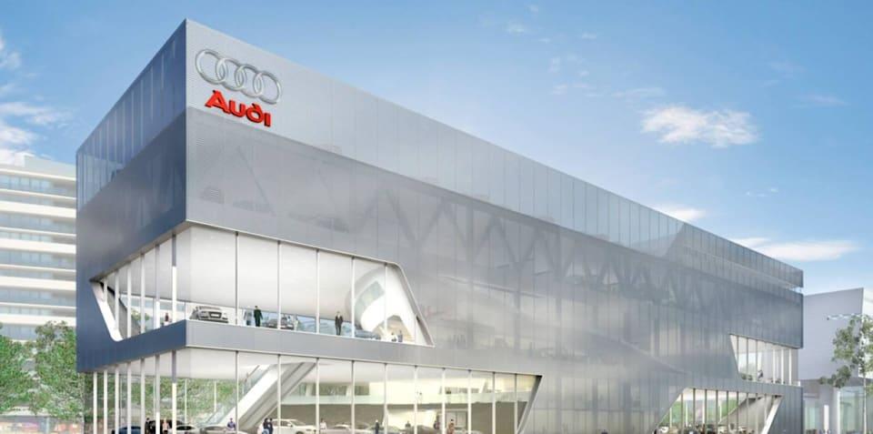 Audi in $50 million showroom drive