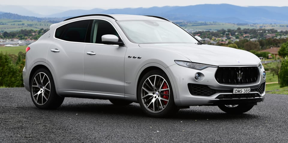 2018 Maserati Levante S pricing and specs