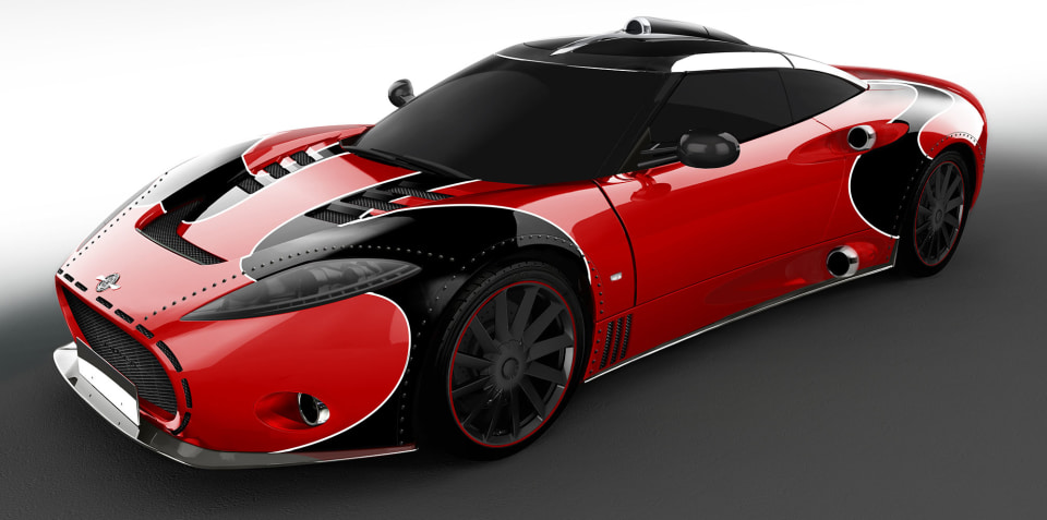 2018 Spyker C8 Aileron LM85 unveiled