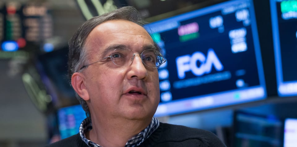 Sergio Marchionne voted 'World Car Person of the Year'