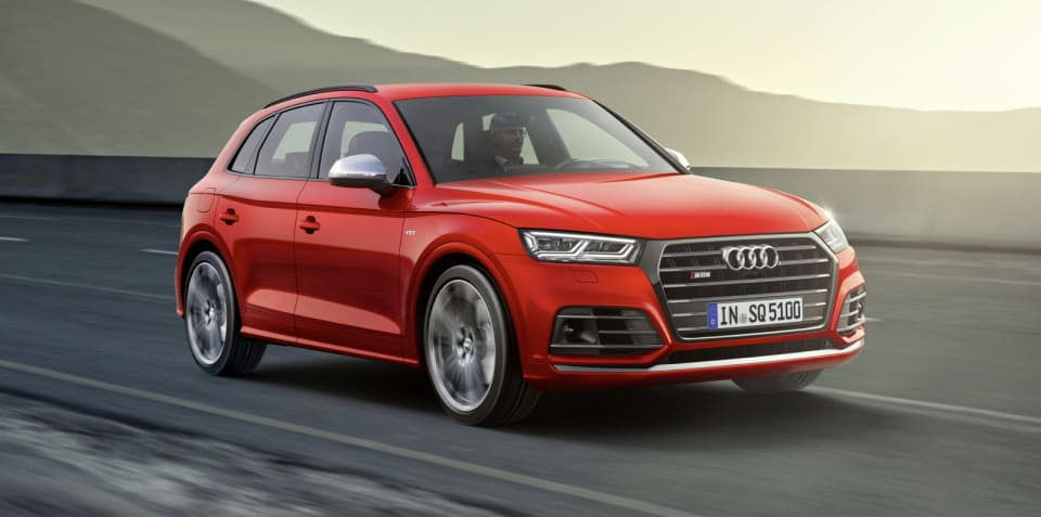 2017 Audi SQ5 debuts in Detroit with petrol power - UPDATE