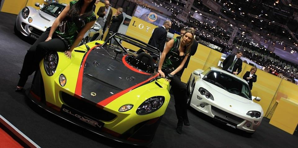 Lotus stand 2008 Geneva Motor Show