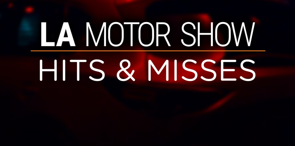 2016 Los Angeles motor show: Hits and misses