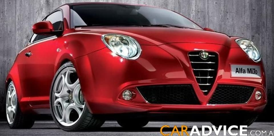 Alfa Romeo Mi.To official images leaked