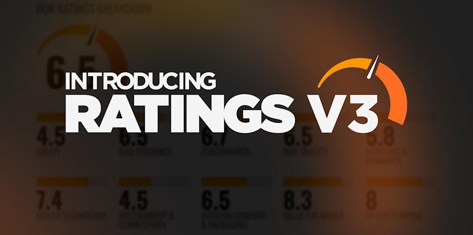 CarAdvice Ratings V3 Explained
