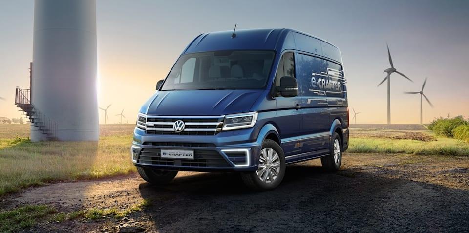 Volkswagen unclear on e-van timeline in Australia