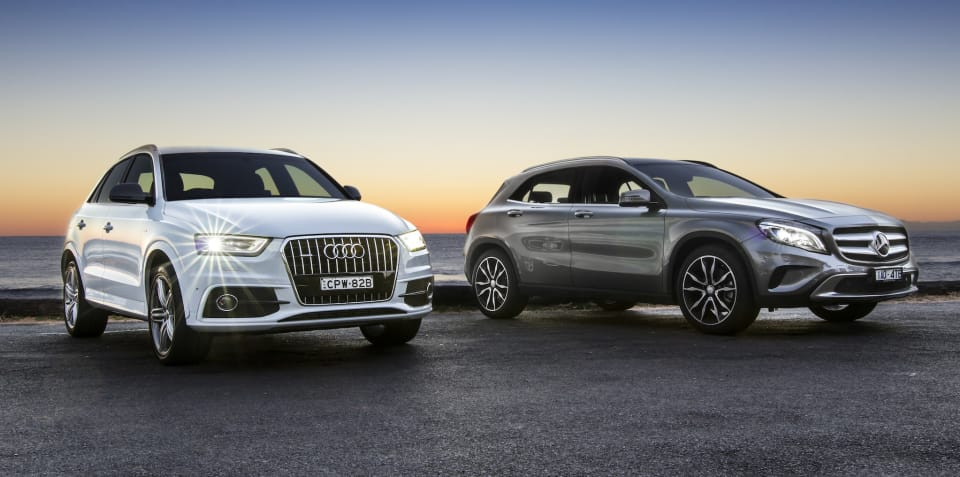 Audi Q3 v Mercedes-Benz GLA-Class : Comparison review