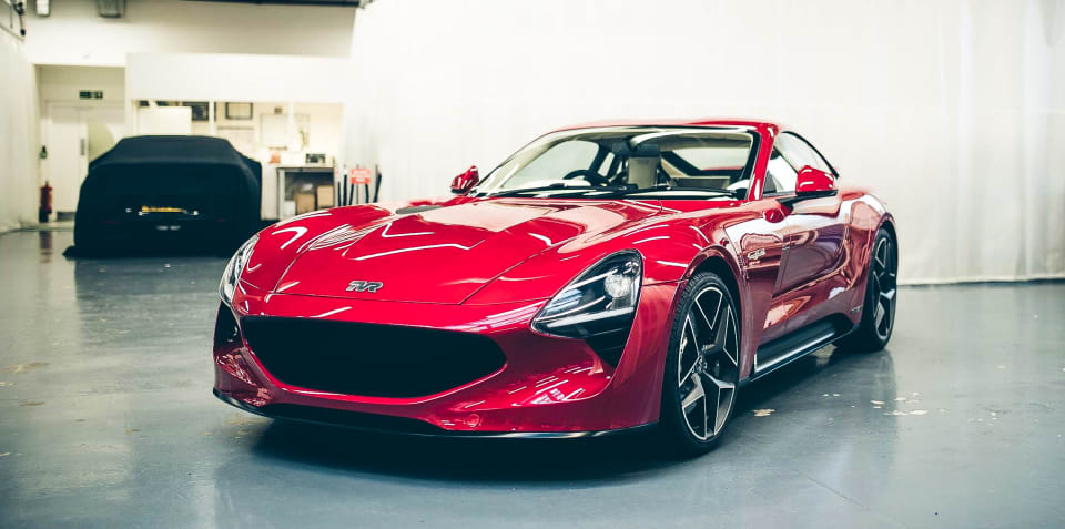 2019 TVR Griffith delayed