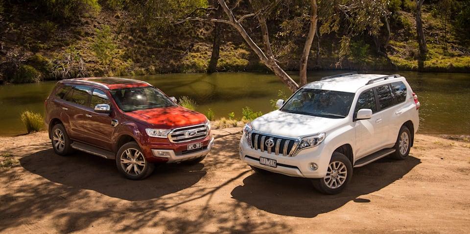 Ford Everest Titanium v Toyota Prado VX: Comparison Review