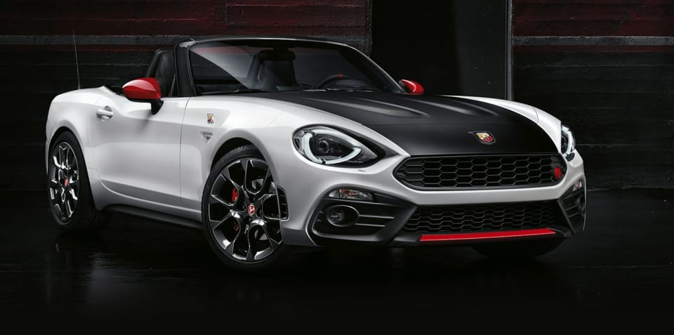 Abarth 124 Spider confirmed for Australia, Fiat version ruled out