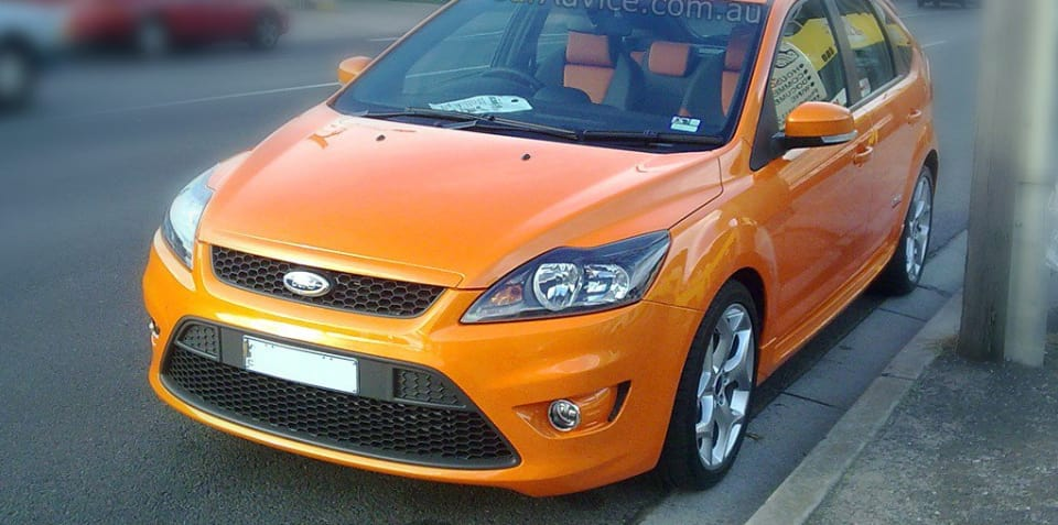 Ford Focus XR5 Turbo facelift spotted