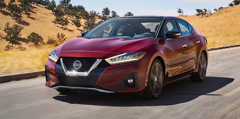 2019 Nissan Maxima unveiled