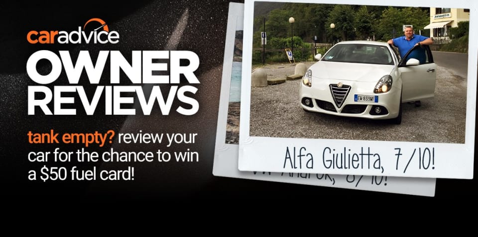 Submit your Owner Review for the chance to win a $50 fuel card