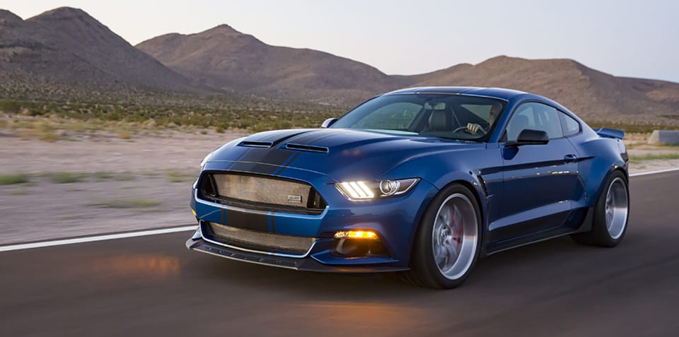 Shelby reveals Mustang Super Snake concept, F-150 Super Snake