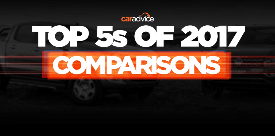 Top 5 comparisons of 2017