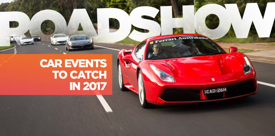 Roadshow: Upcoming car events across Australia, January to March