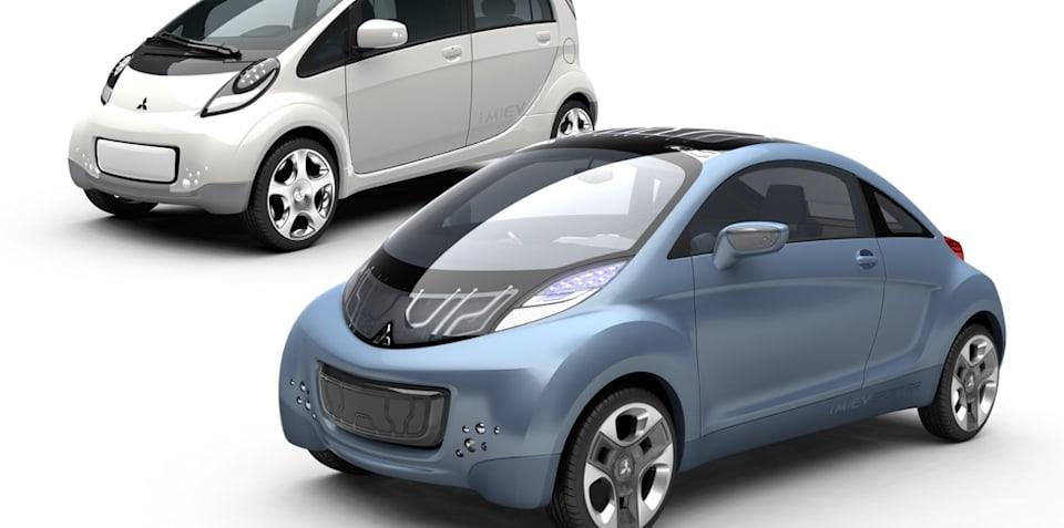 Mitsubishi shows two EVs at Geneva