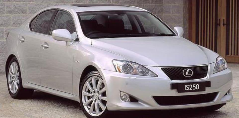 Lexus recalls 264,000 cars, 927 in Australia