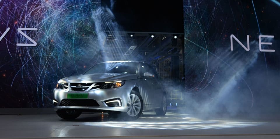 NEVS to build Saab 9-3 EV in Chinese factory