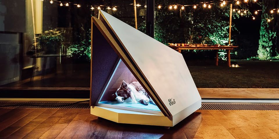 Ford reveals noise-cancelling kennel