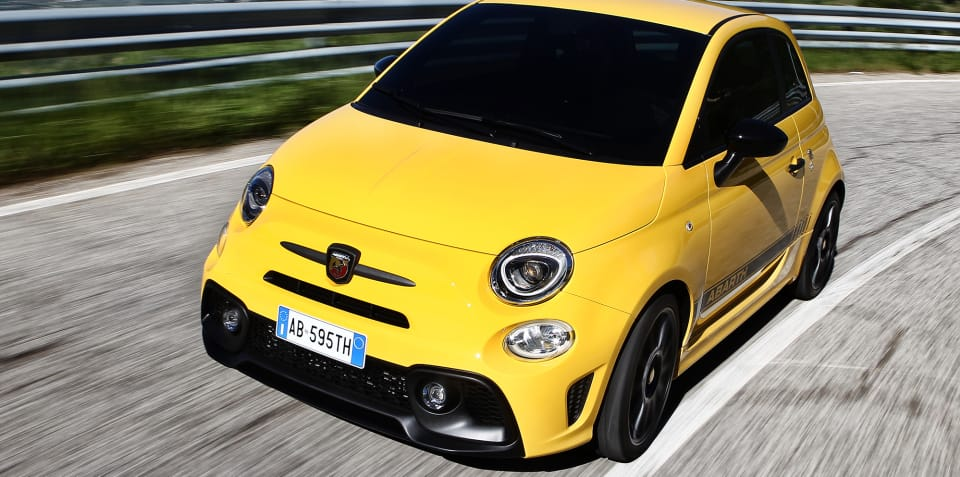 2018 Abarth 595, Fiat 500 infotainment upgraded - UPDATE