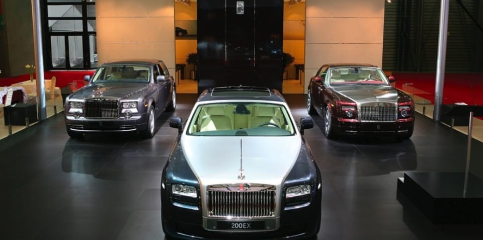 Rolls Royce Ghost will double sales; CEO