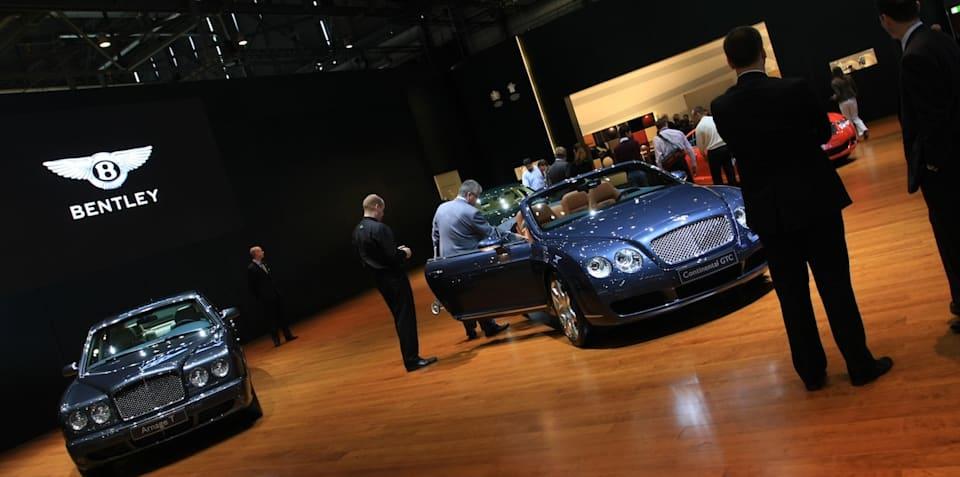 Bentley stand 2008 Geneva Motor Show