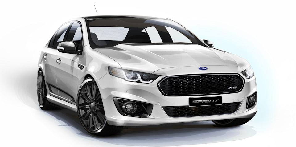 Ford Falcon XR6 Sprint uses carbon-fibre