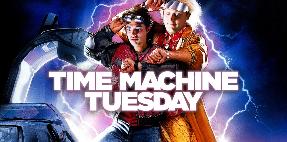 Time Machine Tuesday: 15 May, 2018