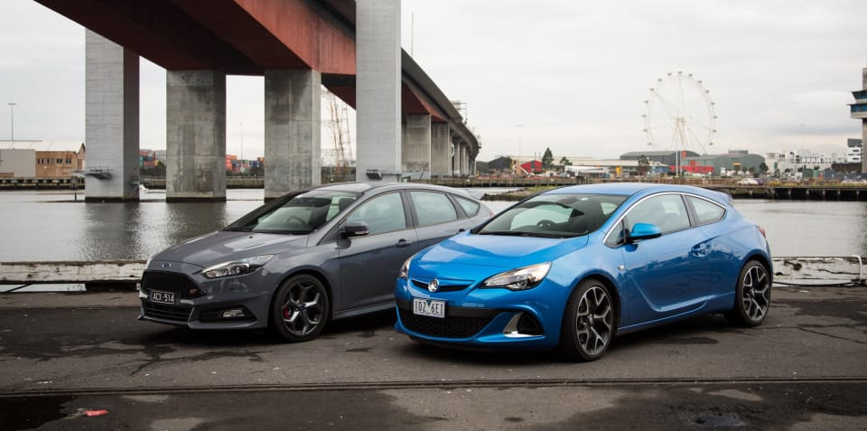 Ford Focus ST v Holden Astra VXR: Comparison Review